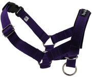 Dog Head Collar Halter Purple 5 Sizes