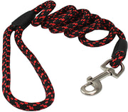 "4ft Nylon Rope Leash 3/8"" Diameter for Medium Dogs"