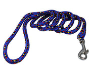 "4ft Nylon Rope Leash 1/4"" Diameter for Small Dogs"