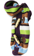 Dog Hoodie Sweater Knitted Pullover Warm Winter Clothing Colorful Stripes