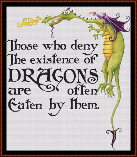 DRAGON LORE Cross Stitch Pattern *PDF File*