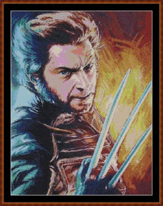 Cross Stitch Pattern *PDF File* ( Pattern ) - WOLVERINE *PDF File*