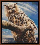 LOOK OF THE OWL Cross Stitch Pattern *PDF File*
