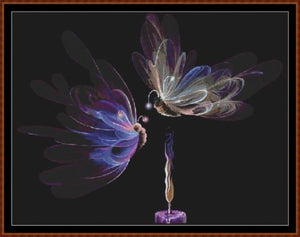 Cross Stitch Pattern</strong> - </span> BUTTERFLY FAIRIES *PDF File*