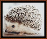 Cross Stitch Pattern</strong> - </span> BABY HEDGEHOG (small) *PDF File