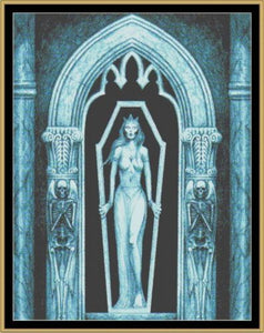 Cross Stitch Pattern *PDF File* ( Pattern ) - THE MISTRESS *PDF File*