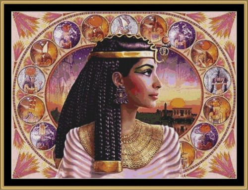 CLEOPATRA - Cross Stitch Pattern *PDF File*