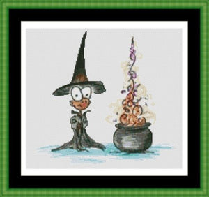 Cross Stitch Pattern *PDF File* ( Pattern ) - POTION TIME *PDF File*