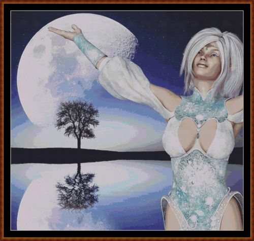 MOON DANCER Cross Stitch Pattern *PDF File*