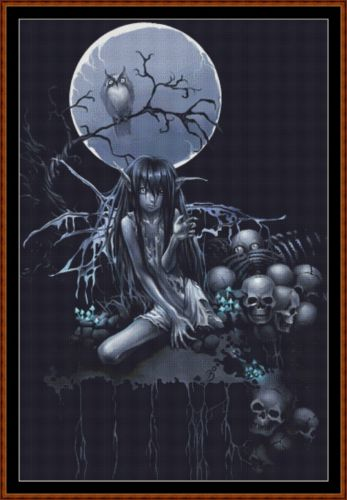 DEATH FAIRY Cross Stitch Pattern *PDF File*