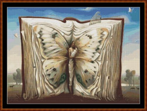 Cross Stitch Pattern</strong> - </span> BUTTERFLY BOOK *PDF File*