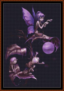CRYSTAL FAIRY Cross Stitch Pattern *PDF File*