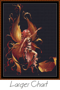 FAIRY TWIN THE SECOND Cross Stitch Pattern *PDF File*