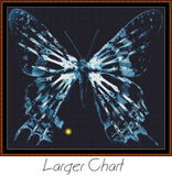 FRINGE 7 - BUTTERFLY Cross Stitch Pattern *PDF File*