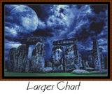 MOONLIT STONES Cross Stitch Pattern * PDF File*