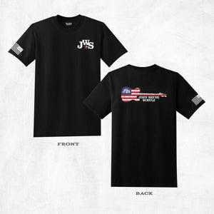 "Black ""JWS Guitar"" T-Shirt"