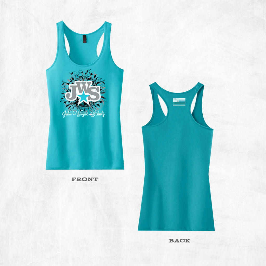 Aqua JWS Racer Back Tank Top