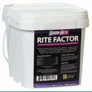 Rite Factor For Goats