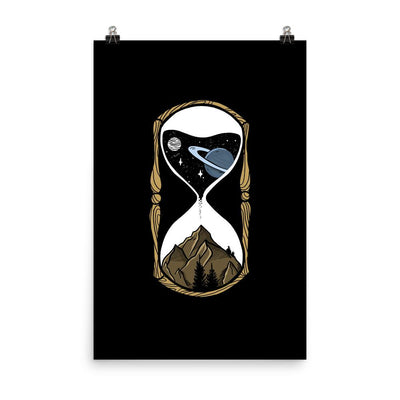 As Stars Fall Universe Hourglass - Custom Designed Poster Wat Crate 24×36