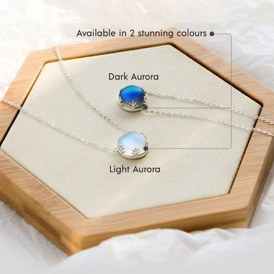 Aurora Borealis Necklace Necklace Wat Crate