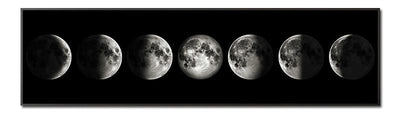 Eclipse of The Moon Canvas Poster Canvas Wat Crate
