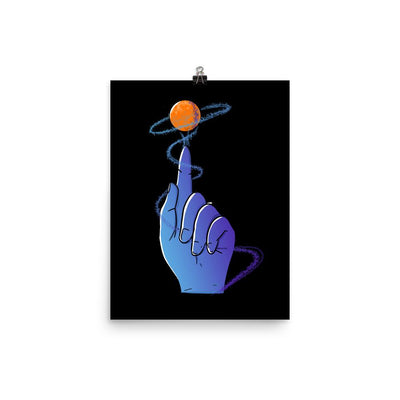 Reaching For The Stars - Custom Designed Poster Wat Crate 12×16