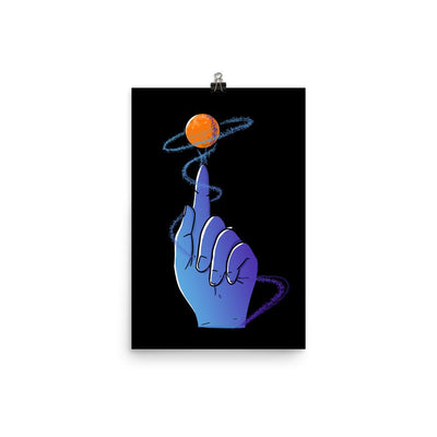 Reaching For The Stars - Custom Designed Poster Wat Crate 12×18