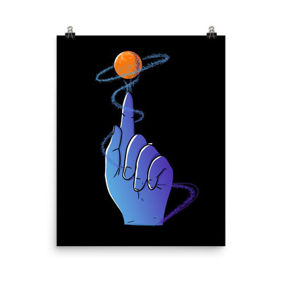 Reaching For The Stars - Custom Designed Poster Wat Crate 16×20