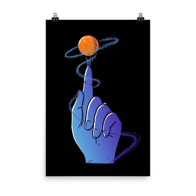 Reaching For The Stars - Custom Designed Poster Wat Crate 24×36