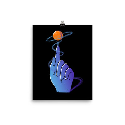 Reaching For The Stars - Custom Designed Poster Wat Crate 8×10