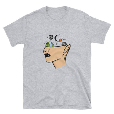 Space Head - Custom Designed T-Shirt Wat Crate Sport Grey S