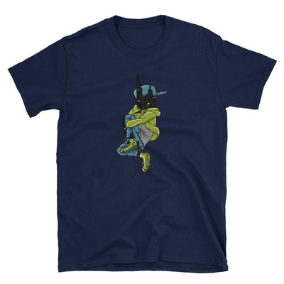 Universe Face Dude - Custom Designed T-Shirt Wat Crate Navy S