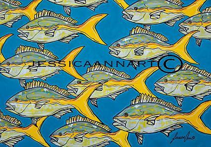 Yellowtail Frenzy