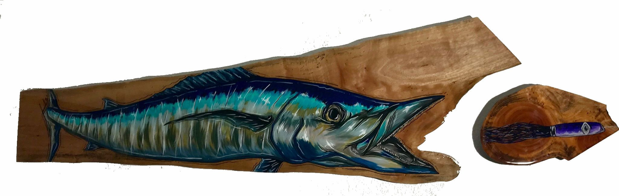 Wahoo live edge original (SOLD)