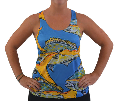 Womens Yellowtail Tank
