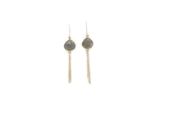 Labradorite Earings - Great Souvenir from Hawaii