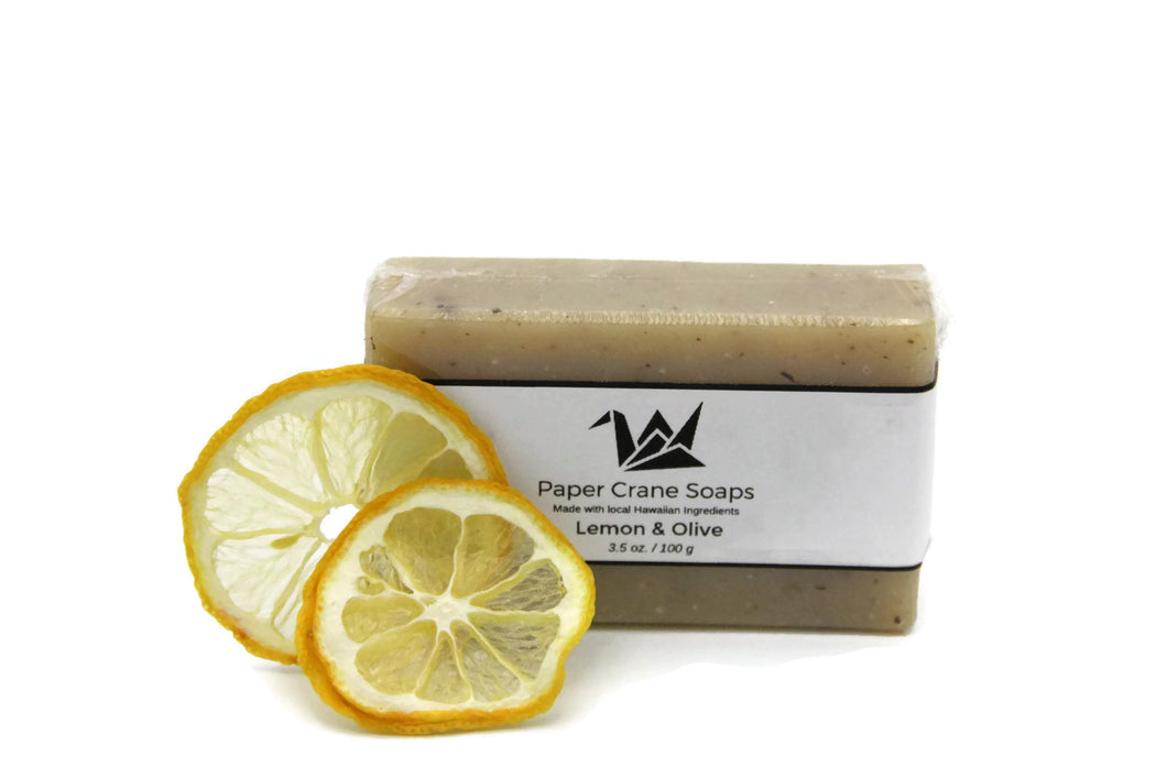 "Hawaiian Soap ""Lemon & Olive"" - Great Souvenir from Hawaii"