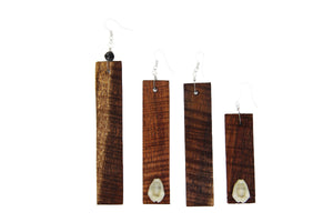 Hawaiian Koa Wood Earrings - Great Souvenir from Hawaii