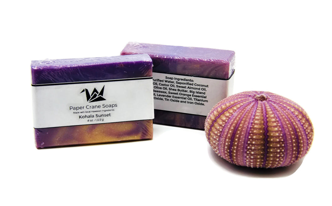 "Hawaiian Soap ""Kohala Sunset"" - Great Souvenir from Hawaii"