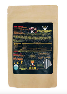 Certified Organic Mushroom Powder / Cacao Mix (3.5 oz) - Great Souvenir from Hawaii