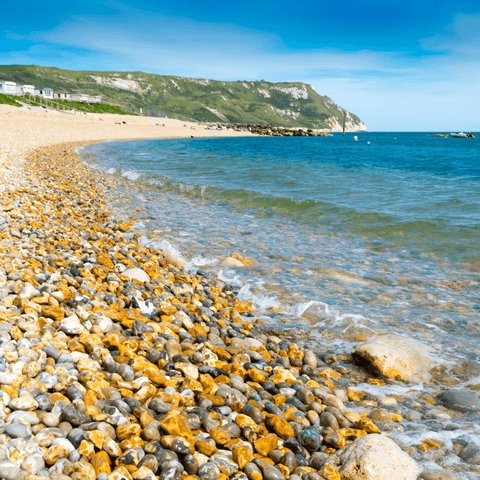 Ringstead Beach looking towards White Nothe