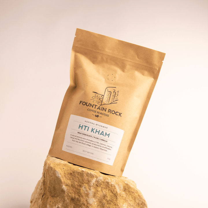 Hti Kham Single Origin Myanmar - 250g compostable coffee bag