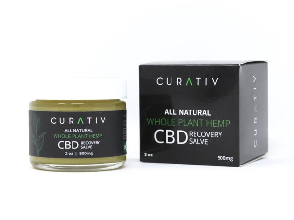 Curativ CBD Recovery Salve - 500mg Packaging
