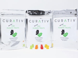 Curativ CBD Gummies - 3 Pack