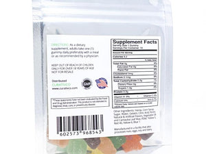 Curativ CBD Gummies - Back