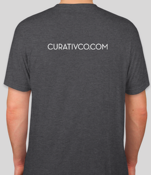 Curativ Short Sleeve Grey Back