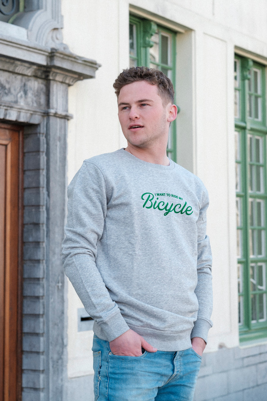 I want to ride my bicycle sweater - Joh Clothing