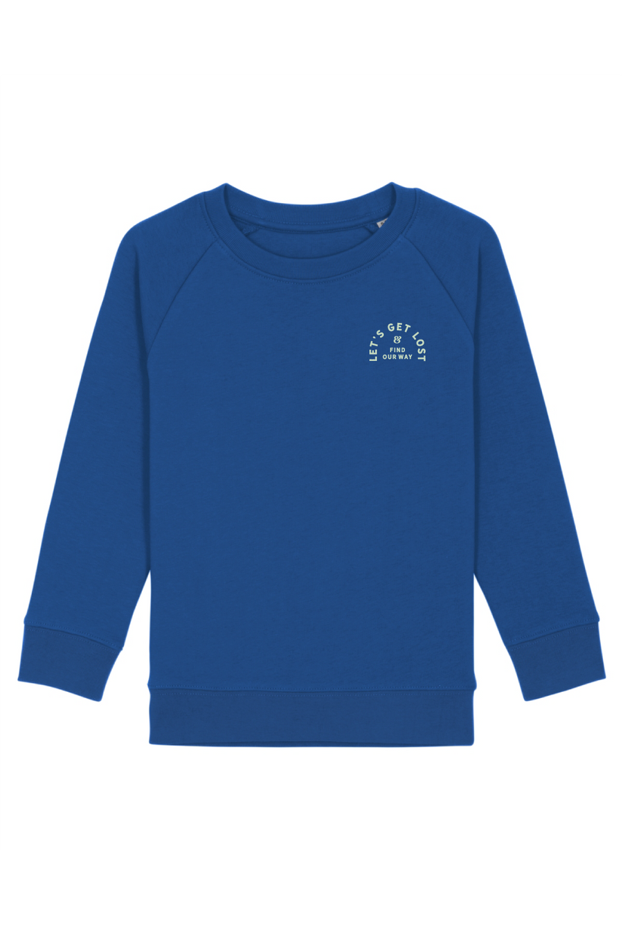 Let's get lost kids sweater - Joh Clothing