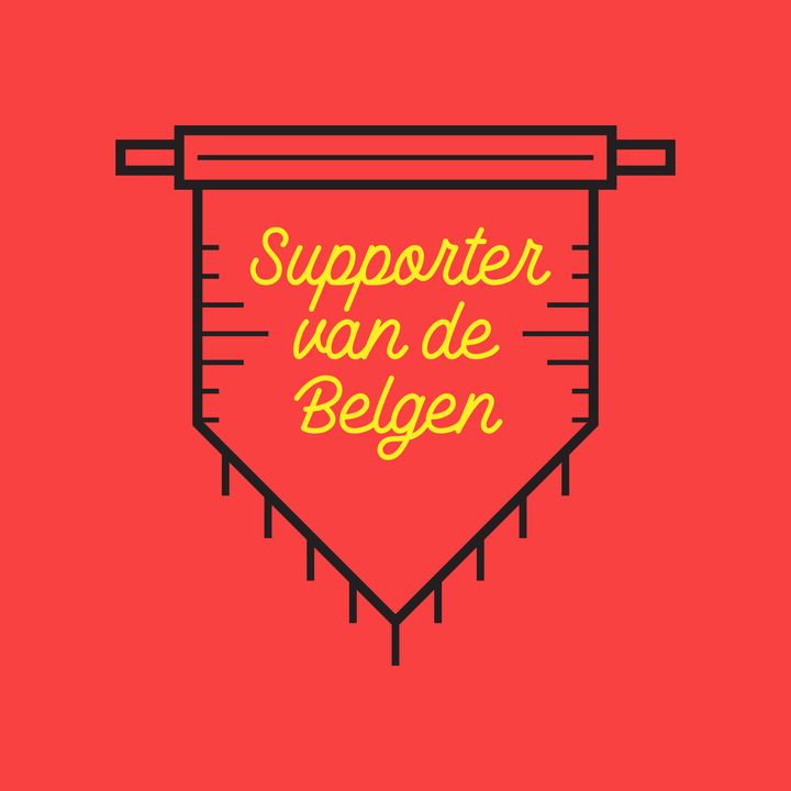 Supporter van de Belgen unisex - Joh Clothing
