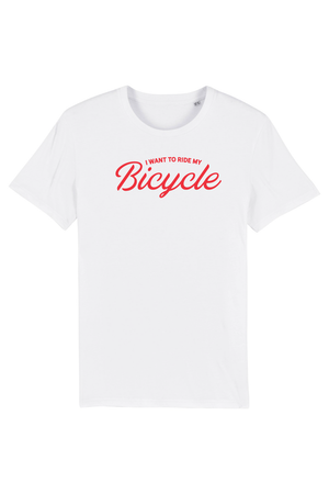 I want to ride my bicycle unisex - Joh Clothing